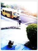 walking to bus